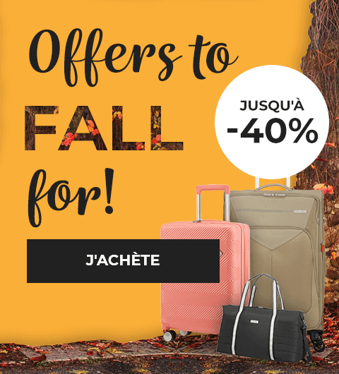 Autumn Sales 2019 - American Tourister