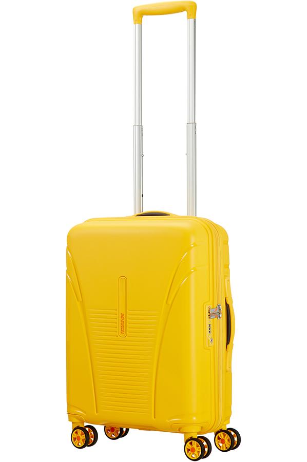 Valise rigide American Tourister Skytracer 77 cm Saffron Yellow jaune UstQX5